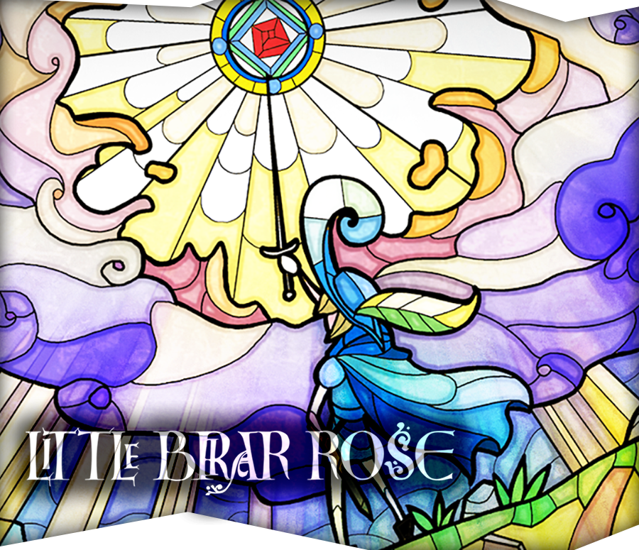 Little Briar Rose Banner Piccolo