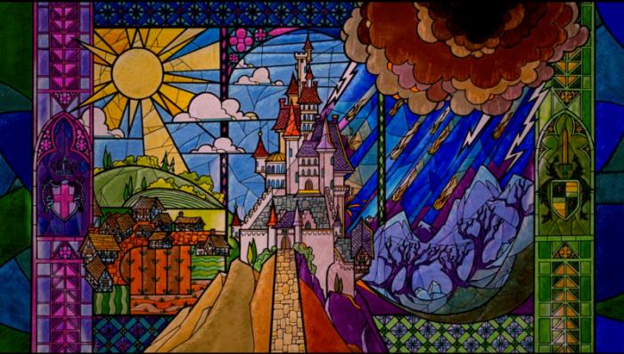 Introduzione de La bella e la bestia Disney