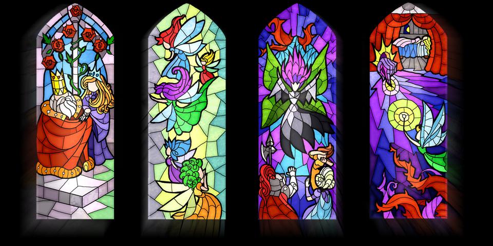 Versione prototipale dell'introduzione del gioco