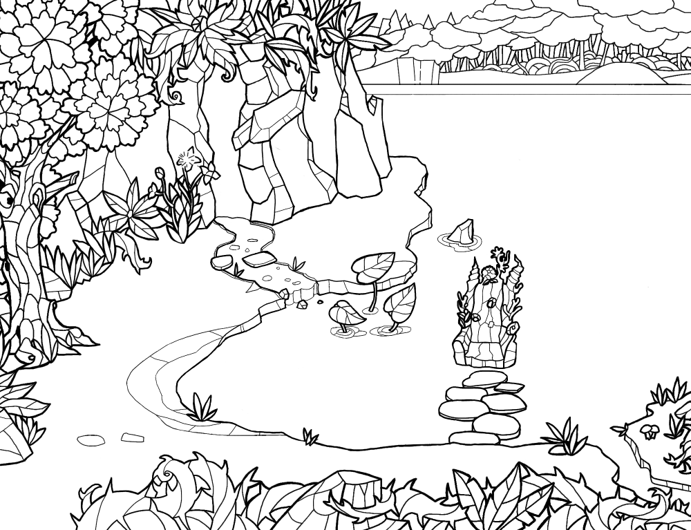 Sketch gioco a vetrate