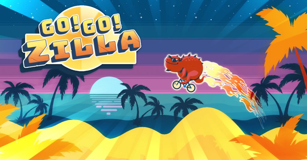 Go Gozilla! facebook instant game