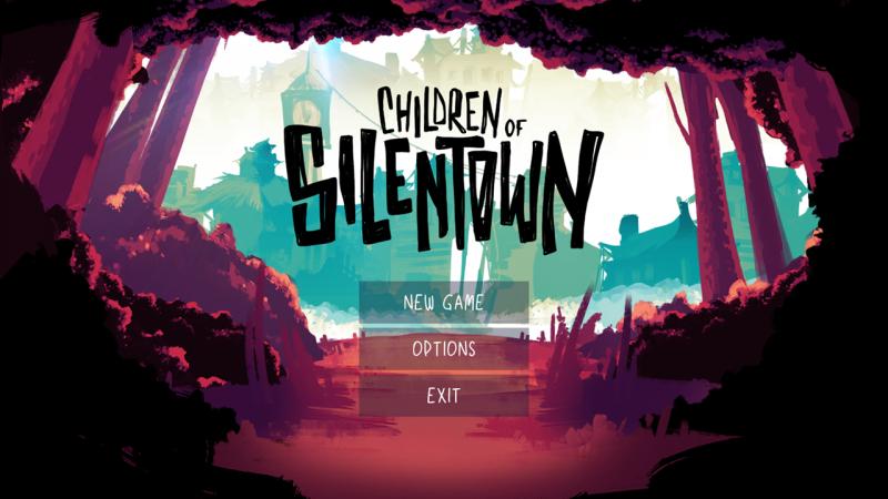 Children of Silentown Title Screen