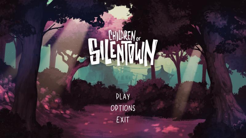 Silentown Title Screen